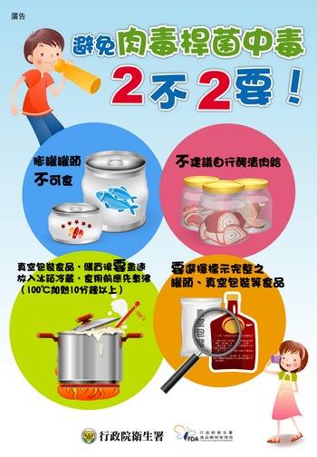 預防肉毒桿菌中毒